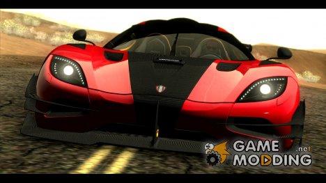 5 Koenigsegg One:1 2014 для GTA San Andreas