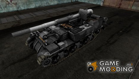 Шкурка для M12 для World of Tanks