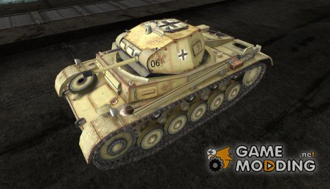 Шкурка для PzKpfw II Africa for World of Tanks