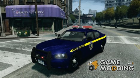 Dodge Charger New York State Trooper CHGR-V2.1M для GTA 4