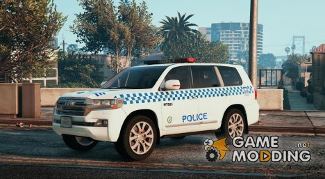 Toyota Land Cruiser NSW Police for GTA 5