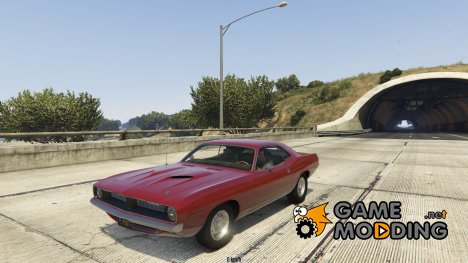 1970 Plymouth Barracuda 1.0 для GTA 5
