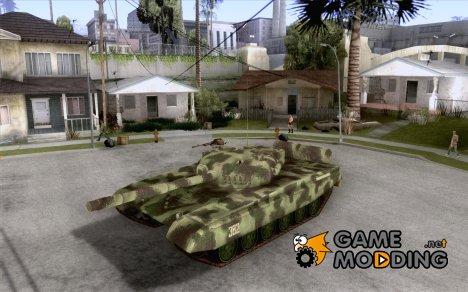 Танк T-72 for GTA San Andreas