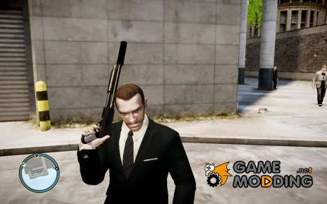Глушитель к оружию for GTA 4