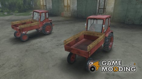 Трактор T16 for Spintires 2014