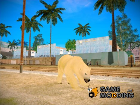 Polar Bear for GTA San Andreas
