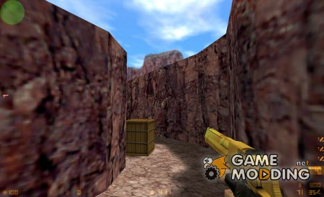 Gold Deagle для Counter-Strike 1.6
