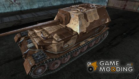 Шкурка для Ferdinand (коричневый) for World of Tanks