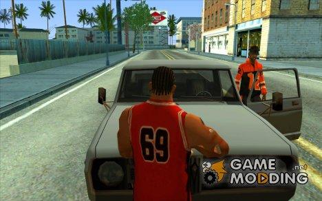 Водители выходят из машины for GTA San Andreas