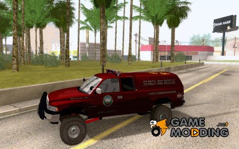Dodge Ram 3500 Search & Rescue for GTA San Andreas