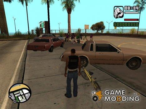 Разборки банд for GTA San Andreas