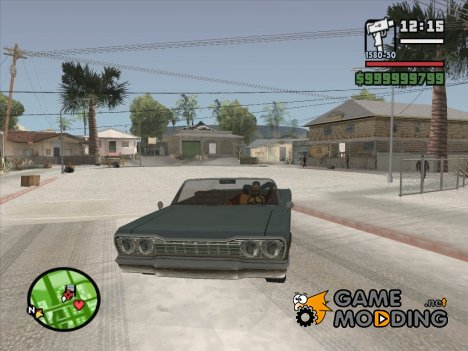 Секс в автомобиле из GTA V для GTA San Andreas