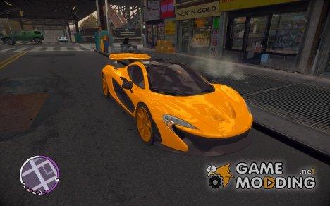 McLaren P1 for GTA 4