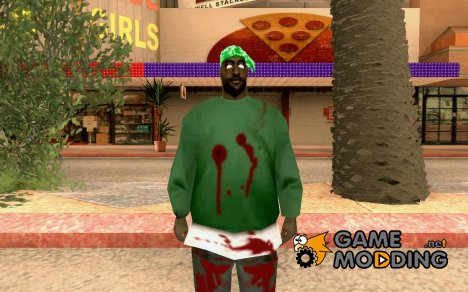 Zombie Skin - fam1 for GTA San Andreas