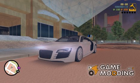 "Audi R8 V12 TDI ""Black Revel"" для GTA 3"