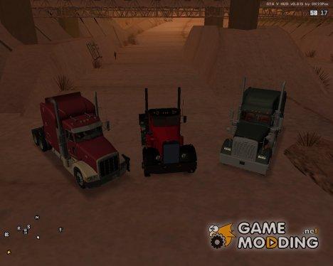 Пак дальнобойщика №3 для GTA San Andreas
