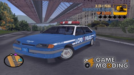 ВАЗ 2115 LCPD for GTA 3