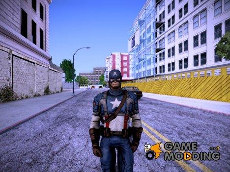 Captain America: First Avenger (Капитан Америка: Первый мститель) для GTA San Andreas