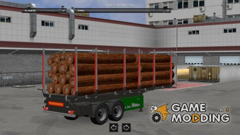 Logs Trailer 1.22 for Euro Truck Simulator 2