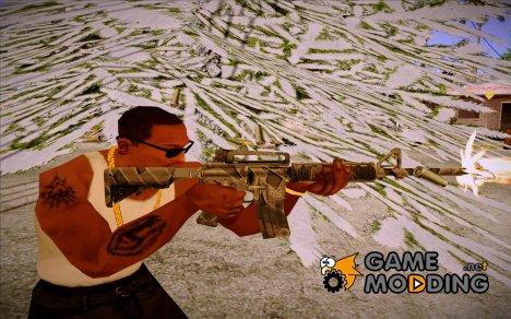 "M4A1 ""Буран"" (Старая) из Warface for GTA San Andreas"