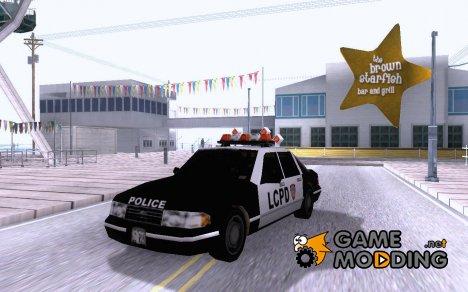 Gta3 Police Car для GTA San Andreas