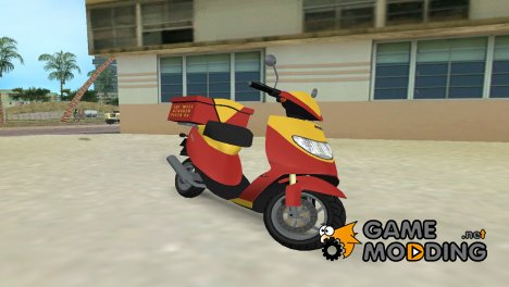Faggio City XS Pizza for GTA Vice City