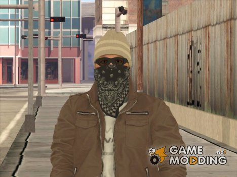 Skin HD Gagnsta Battlefield Hardline for GTA San Andreas