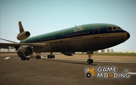 McDonell Douglas DC-10-30 KLM for GTA San Andreas