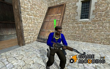 Simple blue L33T для Counter-Strike Source