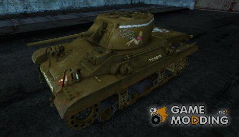 Шкурка для танка M22 Locust for World of Tanks