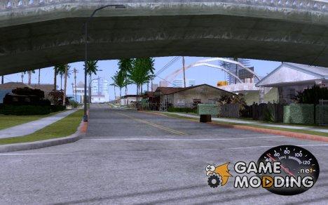 Спидометр как в 412-ом Москвиче for GTA San Andreas