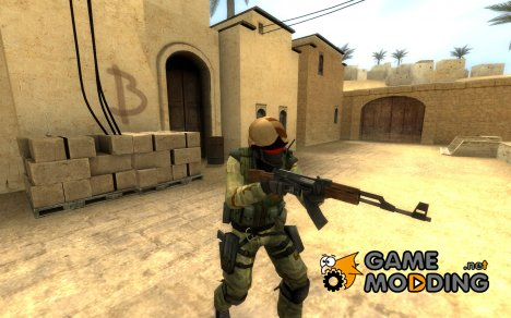 Zombies Desert Warfare Special Forces. для Counter-Strike Source