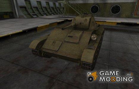 Шкурка для Т-70 в расскраске 4БО для World of Tanks