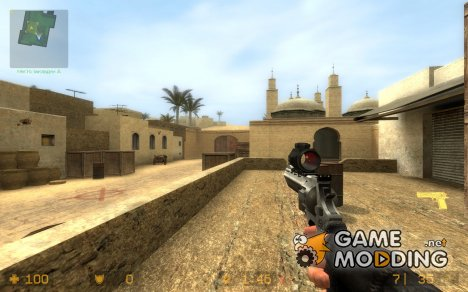 Scoped Raging Bull для Counter-Strike Source
