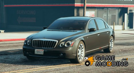 Maybach 62S for GTA 5