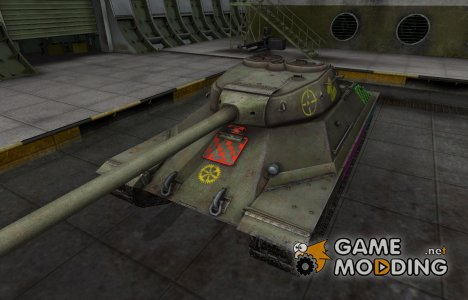 Качественные зоны пробития для ИС-6 for World of Tanks