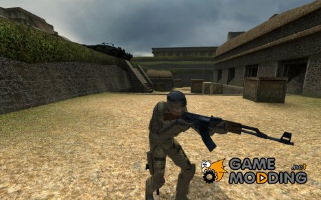 Metal Gear Solid 4 Soldier on Source Compile for Counter-Strike Source