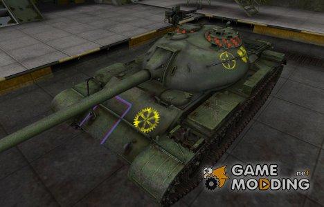 Контурные зоны пробития Type 59 для World of Tanks