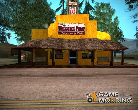 Dillimore Diner for GTA San Andreas