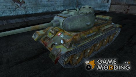 """Т-43 """"Старый нагибатор"""" для World of Tanks"""