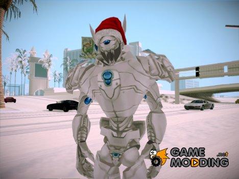 Альтрон в новогодней шапке (Marvel - Ultimate Alliance) для GTA San Andreas