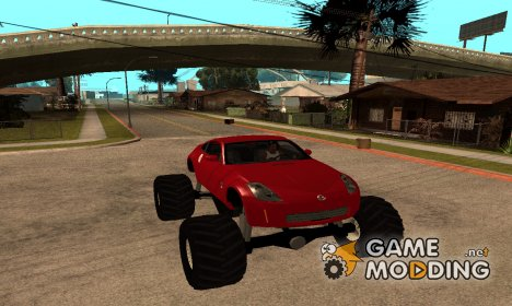 Nissan 350Z Monster Truck для GTA San Andreas