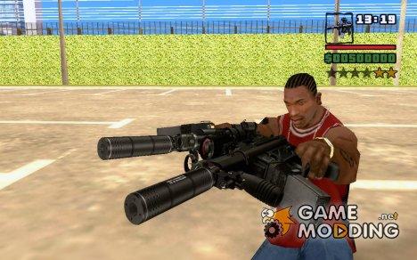 HK MP5k v2 для GTA San Andreas