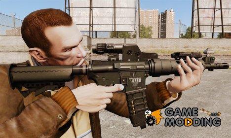 Тактическая M4 v2 for GTA 4