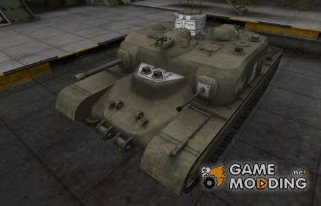 Зоны пробития контурные для AT 7 for World of Tanks