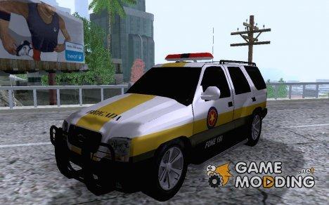 Blazer Brigada Militar de Porto Alegre для GTA San Andreas