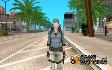 Jill Valentine из RE5 for GTA San Andreas