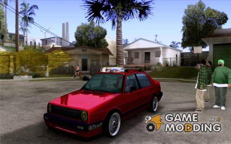 Volkswagen Jetta 1987 Eurostyle for GTA San Andreas