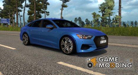 Audi A7 Sportback для Euro Truck Simulator 2