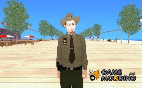 Новый полицейский на замену старому csher для GTA San Andreas